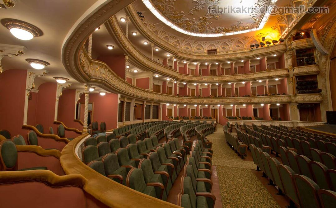 National academic dramatic theatre Franko, big hall(Image)